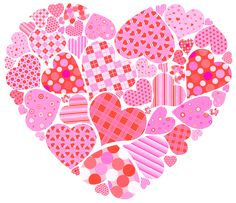 Valentines Day Heart of Hearts PNG Clipart Picture