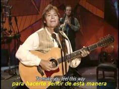 ▶ John Denver - Sunshine on my shoulders - Subtitulado - YouTube