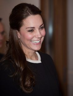 Catherine, Duchess of Cambridge, is greeted as she arrives for lunch at the British Consul General's Residence on December 8, 2014 in New York City. The royal couple are on an official three-day visit to New York with Prince William also due to meet President Barack Obama in Washington D.C on Monday.