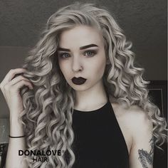 gray hair: http://www.donalovehair.com/277-gray-waist-length-curly-synthetic-lace-wig-sny068.html