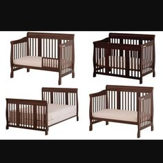 For Sale New 4 In 1 Convertible Crib 180