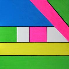 "BRITTA BREMER - ""Creative Liberty"" Mixed Media on Canvas, 39.37"" x 39.37"""
