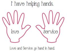 "serve god Coloring Pages | Love and Service Go Hand and Hand"" (above: click here - Acitivity ..."