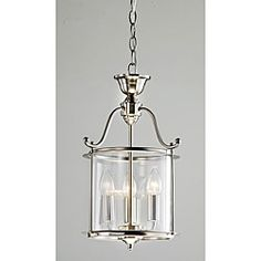 @Overstock - An antique nickel finish highlights this 3-light chandelier. This light fixture features a clear shade.http://www.overstock.com/Home-Garden/Indoor-3-light-Antique-Nickel-Chandelier/5184454/product.html?CID=214117 $125.09