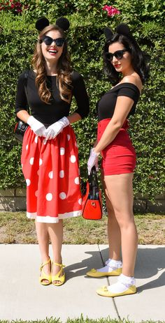 Minnie mouse retro outfits