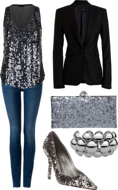 Sequin, created by pilarvictoriogimenez on Polyvore