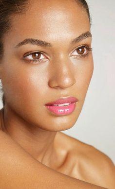 Image result for brown skin make up pink