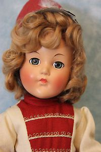 "Exquisite Vintage Composition Effanbee ""Anne Shirley"" Original Majorette Outfit | eBay"
