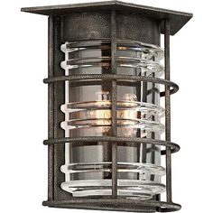 "Brunswick 12 1/2"" High Aged Pewter Wall Sconce"
