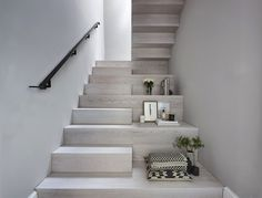 Take a look at some of the bespoke staircases and fitted furniture we've created for our satisfied customers. Bespoke Staircases, Wooden Staircases, Modern Staircase, Staircase Design, Interior Stairs, Home Interior Design, Interior Architecture, Concrete Stairs, House Stairs