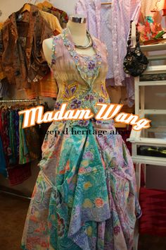 kebaya encim and batik skirt, party attire
