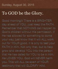 Inspirational/uplifting/encouraging/motivational
