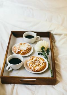 yess breakfast in bed please! Who wouldn't love being surprised with pastries in bed. Be sure to include a fragrant flower. Inspired by the movie Burnt in select theaters October 23 and everywhere October 30!