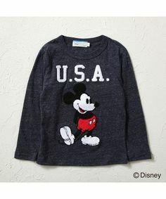 【ZOZOTOWN|「ツケ払い」ならお支払は2ヶ月後】Disney(ディズニー)のTシャツ/カットソー「【Disney(ディズニー)】ミッキーロゴロンT」(DNJ38321010U-1)をセール価格で購入できます。