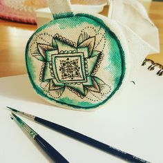 Mandala Stoffmalerei