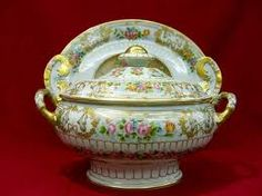 Soup Tureen and Platter