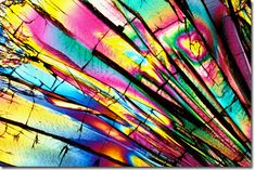 Photograph of Epinephrine (Adrenalin) under the microscope. Not sure if that's true but it is awesome none the less!