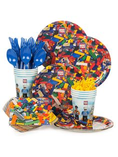 Bric Tek Standard Kit - LEGO and Themed Tableware Party Supplies