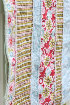 DIY – Flannel Baby Rag Quilt