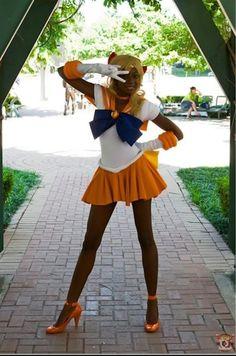 Sailor Venus! My goodness she's a slim thing.