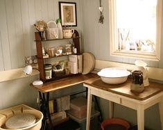 Home pottery studio