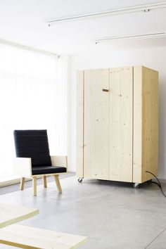 Functional Furniture Full Of Secrets Created For The Museum Of Modern And  Contemporary Art