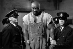David Morse, Michael Clarke Duncan and Tom Hanks in The Green Mile, 1999