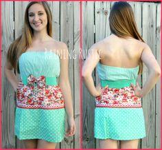 Watermelon Crawl Dress