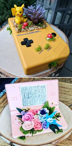 Game Boy Planter #nintendo #gameboy #retro #pokemon #pikachu #merch #merchandise #nintendomerch #nintendomerchandise #planter #planters #Pokemonmerch #pokemonmerchandise