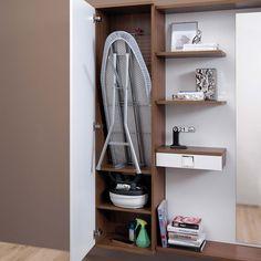 Laundry Room Storage, Laundry Room Design, Home Room Design, Interior Design Living Room, Living Room Designs, Diy Bedroom Decor, Diy Home Decor, Wood Interior Design, Space Saving Furniture