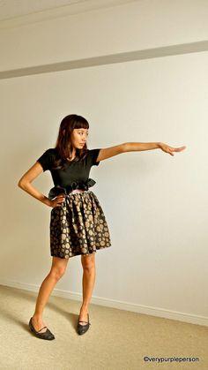 Easy full skirt (and a little tutorial) – verypurpleperson
