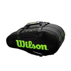Wilson Super Tour 3 Comp BK/GR - Racketshop de Bataaf - Specialist in tennisartikelen