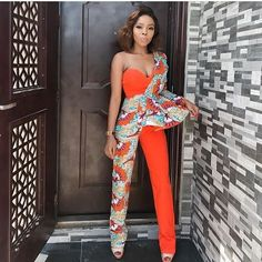Gorgeous Ankara Jumpsuit Styles 2019 There are several cute ways to slay Ankara Trousers/pants watch this video to see the stunning ways, also find out how to rock your jumpsuit this summer. African Fashion Ankara, African Inspired Fashion, Latest African Fashion Dresses, African Print Fashion, Africa Fashion, African Wear, African Attire, African Dress, Nigerian Fashion