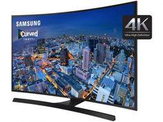 """Smart TV LED Curva 48"""" Samsung 4k/Ultra HD Gamer - UN48JU6700 Wi-Fi 4 HDMI 3 USB com as melhores condições você encontra no Magazine Micelanea. Confira!"""