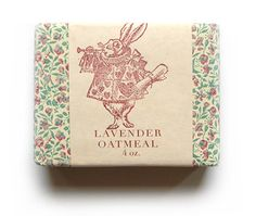 lavender oatmeal soap from Pink Olive - $12.00