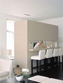 Oltre 1000 idee su cuisine semi ouverte su pinterest meuble cuisine bois cucine e angolo cottura - Idee outs semi open keuken ...