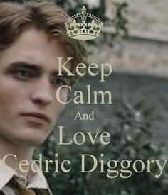 Keep Calm And Love Cedric Diggory - KEEP CALM AND CARRY ON Image ...