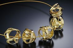 Isabelle Posillico || 18K Time Ribbon Pendant Beads Making Metal Beads/ Lark Books
