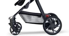 Moxi - the pram with headlights, tail lights and a phone charger #4Moms, #Gadget, #Prams
