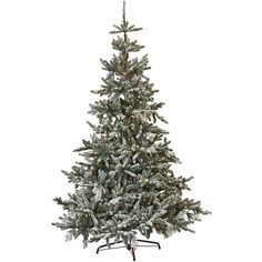 Martha Stewart Living? Snowy Norwegian Spruce Pre-Lit Artificial Tree ($499) ❤ liked on Polyvore featuring home, home decor, holiday decorations, blue angel tree topper, christmas tree star topper, christmas tree toppers, tree branch centerpieces and lighted star tree topper