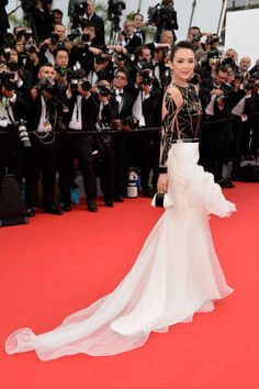 Best Red Carpet Looks at the 2014 Cannes Film Festival - Best Fashion Looks  at th 527a0f25367