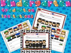 Kindergarten Lifestyle: Kindergarten Graduation Invitations