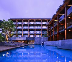 Gallery of KC Grande Resort & Spa-Hillside / Foundry of Space - 23