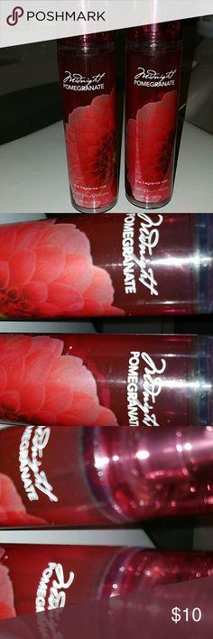 🎁🛒FREE WITH 💲30 BUNDLE🛒🎁 》Bath and Body Works Mignight Pomegranate body mist. Never used. You can purchase both for 💲10 or⏬ ☛One free with💲30 bundle☚ 🚫🚭Any & everything in my closet is from a smoke free home🚫🚭 Bath and Body works Other