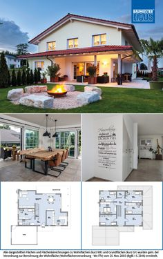 Haus Lehmann - country house with Mediterranean charm. This spacious home . Haus Lehmann – country house with Mediterranean charm. This spacious home in a southern country s Roof Soffits, Country Style Homes, House Windows, Home Design Plans, House Floor Plans, Home Fashion, Architecture Details, Ground Floor, My Dream Home
