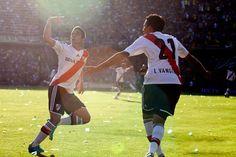 El gol más rápido de los SuperClasicos #Lanzini #Vangioni