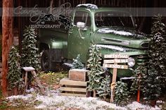 Vintage truck fall sessions - Google Search                                                                                                                                                     More