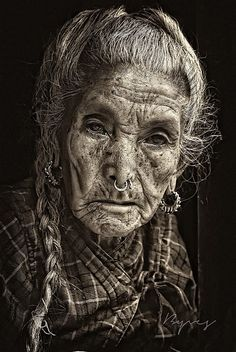 Woman,Manaslu,Népal