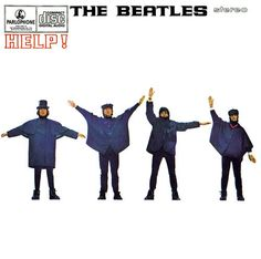 I'm officially convinced The Beatles started the black/blue white/gold debate. Apparently, the Help! Album cover is black attire overexposed to appear blue.