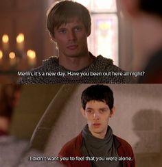 Arthur and Merlin